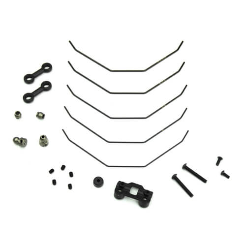 TKR6623 – Sway Bar Kit (complete front, 1.0, 1.1, 1.2, 1.3, 1.4mm, EB410) - RACERC