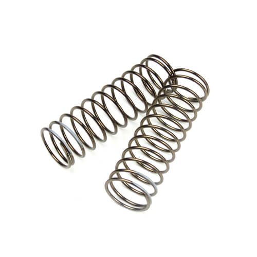 TKR8762 – LF Shock Spring Set (front, 1.6×12.3, 3.34lb/in, 75mm, grey) - RACERC