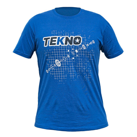 Tekno RC T-Shirt (diff blueprint, Next Level, dark blue)