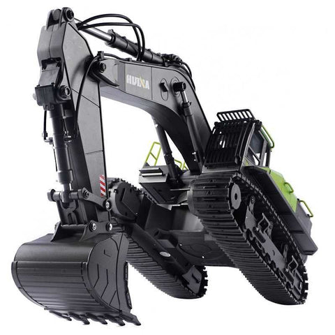 RC EXCAVATOR 1:14 CONSTRUCTION SCALE MODEL HUINA 1593 All Metal Hobby Grade Excavator