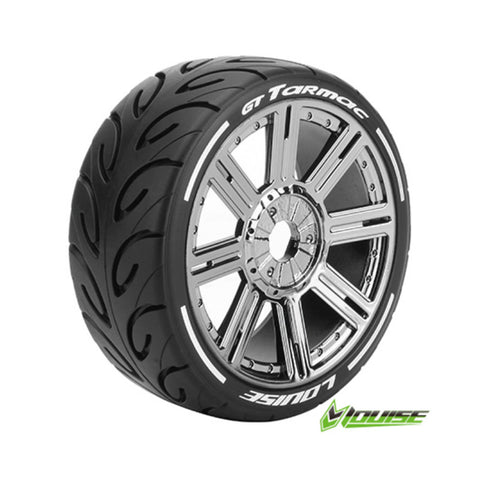 LOUISE Tires & Wheels GT-TARMAC 1/8 GT Soft (MFT) Black