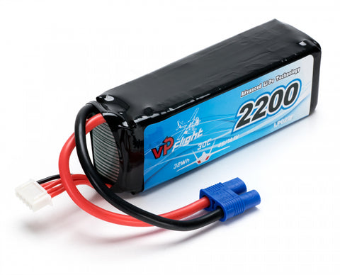 Li-Po Battery 4S 14,8V 2200mAh 30C EC3-Connector