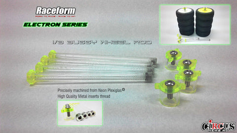 RACEFORM Electron Series 4pc Wheel Rod Set - RACERC