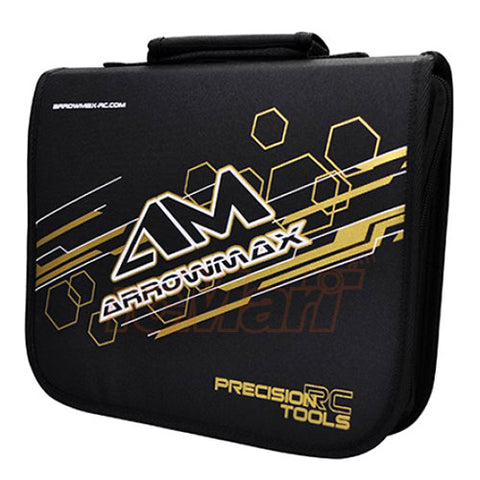 Arrowmax Tool Bag V4 Black Golden - RACERC