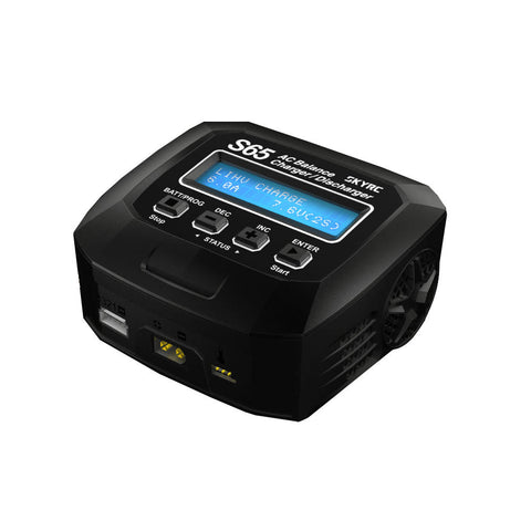 SkyRC S65 AC Multifunctional Balance Charger 65W 6A 2-4S - RACERC