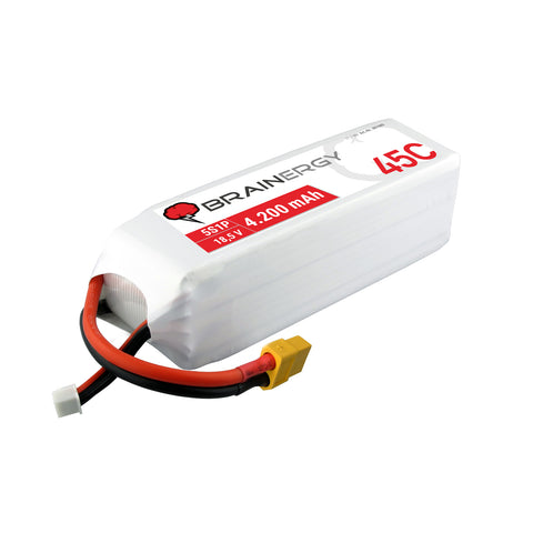 BRAINERGY LiPo battery 5s1p 18.5V 4200mAh 45C XT60