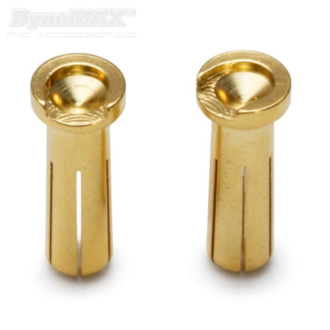 Connector Bullet 5mm Male Car 10pcs - RACERC