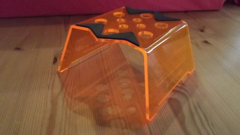 RACEFORM Evolver Car Stand - Candy Orange - RACERC