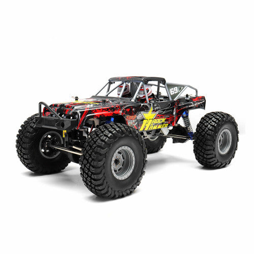 ROCK HAMMER 4X4 RTR 1:10 WATERPROOF RED RGT1800-R