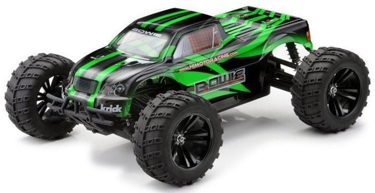 Himoto 1/10 Bowie 4WD Electric RTR RC Off-Road Monster Truck - RACERC