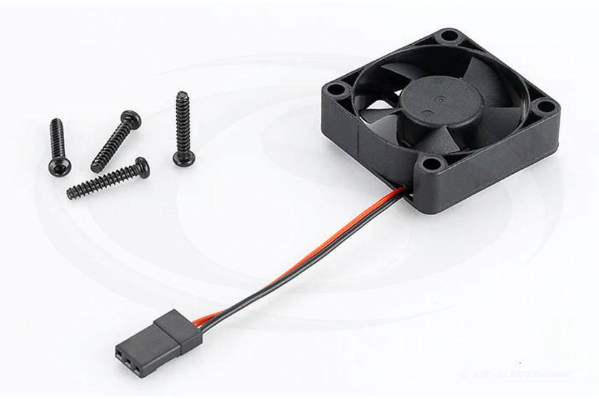 Hobbywing Fan 5V 10.500 RPM 35x35x10mm Length 70mm Cabel with JR-connector - RACERC