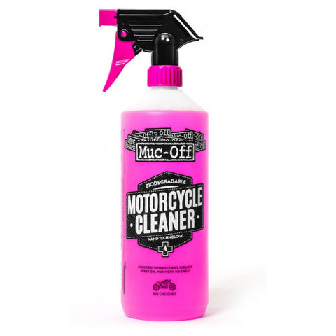 MUC-OFF NANO TECH FAST ACTION CLEANER W/ SPRAY NOZZLE 1L - RACERC