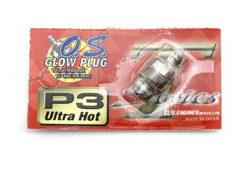 "O.S. P3 Turbo Glow Plug ""Ultra Hot"" - RACERC"