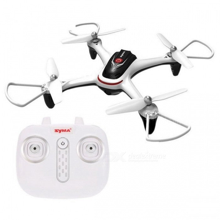 Syma X15 RC Drone 2.4GHz 4CH 6-Axis Gyro Quadcopter with Altitude Hold, 3D Flips, Headless Mode, One Key to Return and LED Lights Perfect for Beginners Kids Adults - RACERC