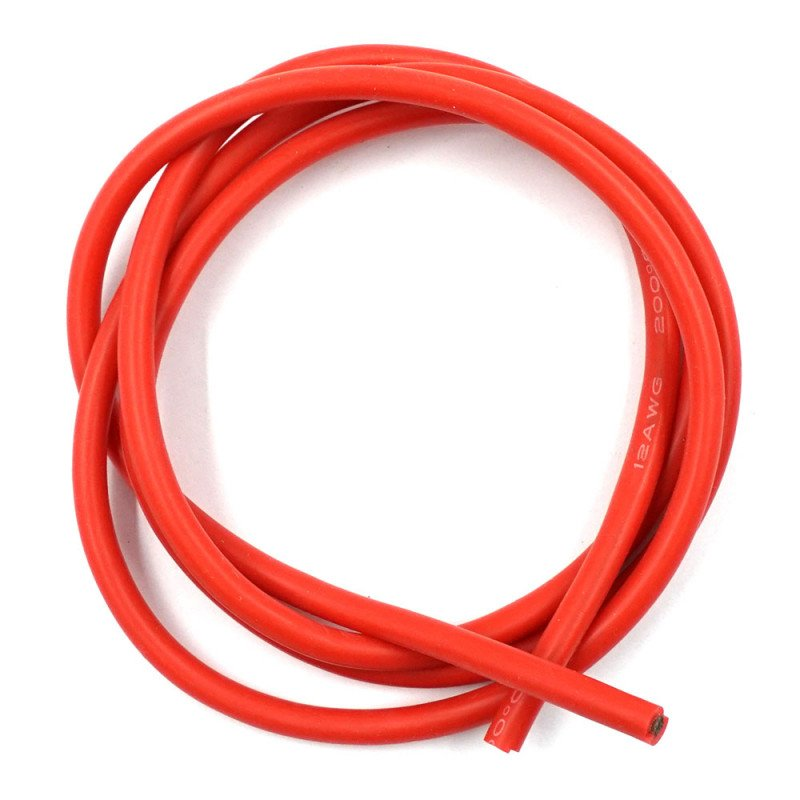 ProtonRC Silicone Wire 12AWG 1m Red