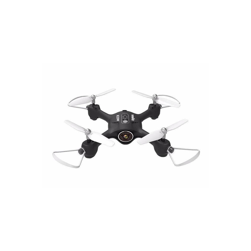 Syma X23W FPV Real-Time Quadcopter with 720p HD Wi-Fi Camera, Black