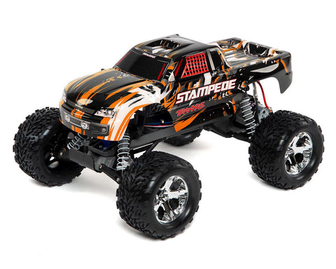 Traxxas Stampede 1/10 RTR Monster Truck (Orange) w/XL-5 ESC, TQi 2.4GHz Radio, Battery & DC Charger
