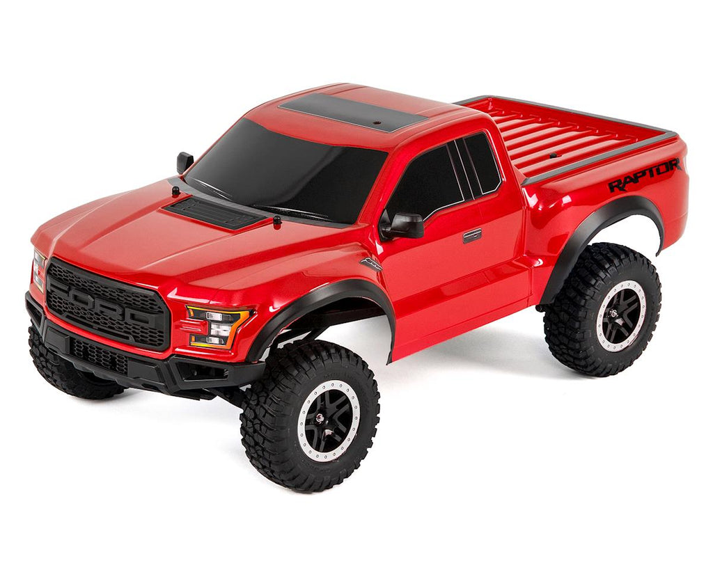 Traxxas 2017 Ford Raptor RTR Slash 1/10 2WD Truck (Red) w/TQ 2.4GHz Radio, Battery & DC Charger
