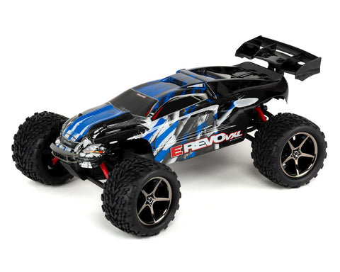 Traxxas E-Revo VXL 1/16 4WD Brushless RTR Truck (Blue) w/TQi 2.4GHz Radio, TSM, Battery & DC Charger