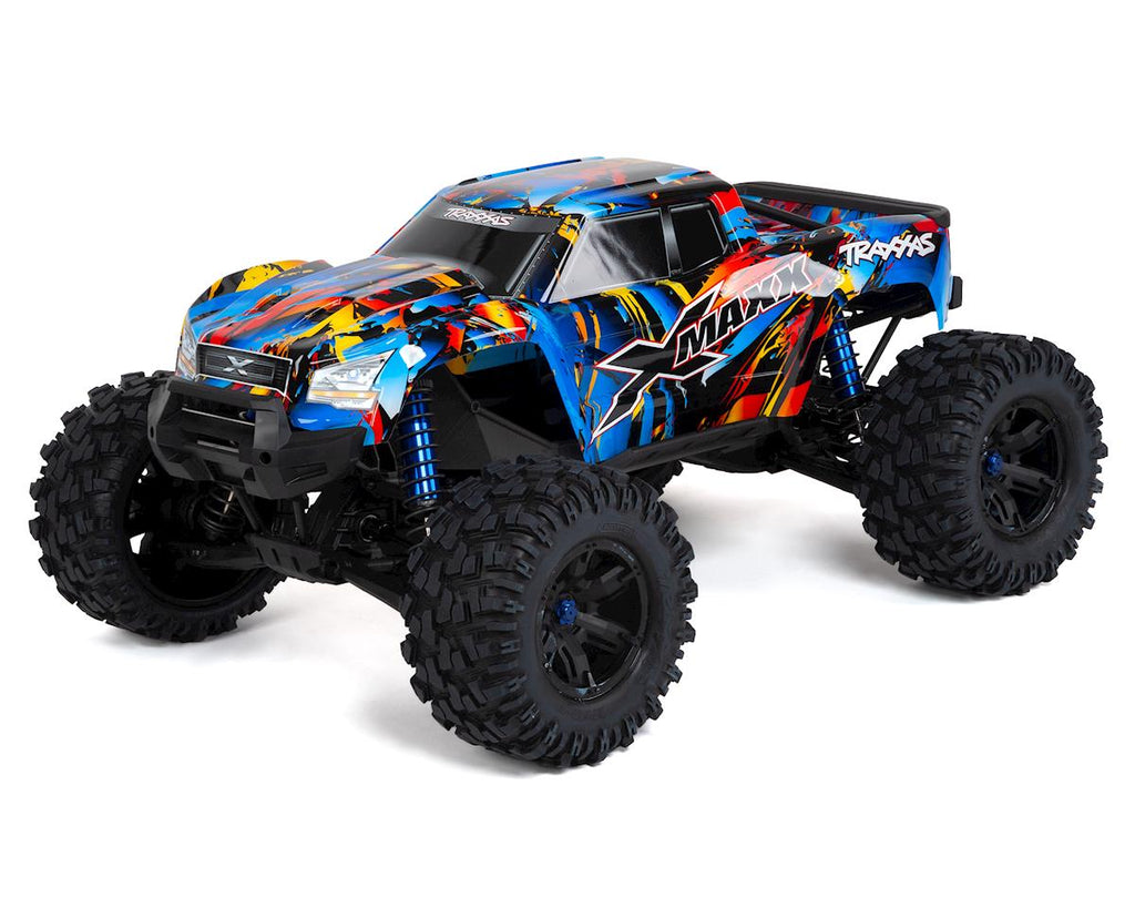 Traxxas X-Maxx 8S 4WD Brushless RTR Monster Truck (Rock n Roll) w/2.4GHz TQi Radio & TSM
