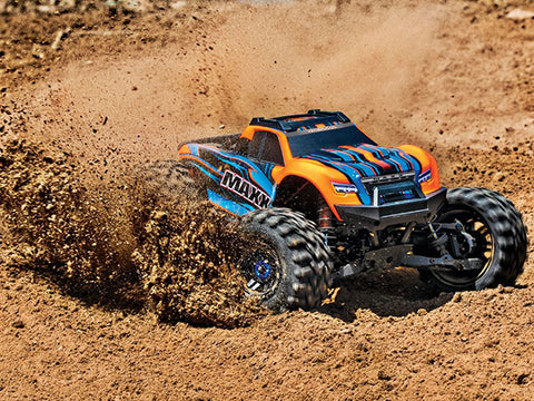 Traxxas Maxx 1/10 Monster Truck RTR orange - RACERC