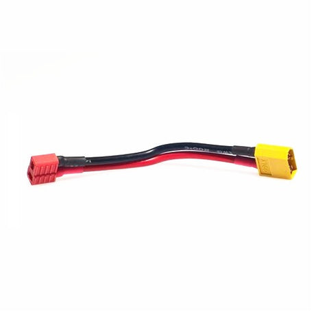 Connector XT90 Male To T Plug Female (16AWG Silicone Wire, L= 150mm) 1pcs/bag (1pcs)