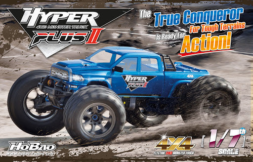 Hyper MT Plus II MONSTER TRUCK RTR SILVER BODY