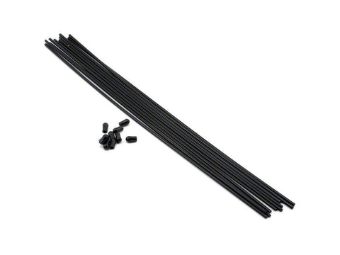 THE Antenna tube (Black) 10pcs - RACERC