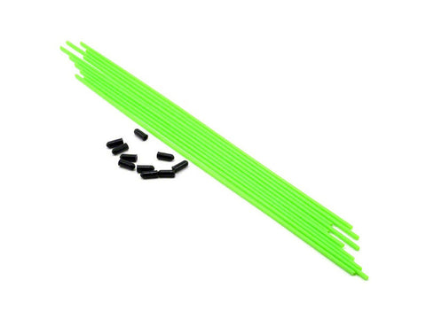 THE Antenna tube (Green) 10pcs - RACERC