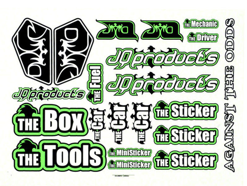 THE Car Sticker Sheet - RACERC
