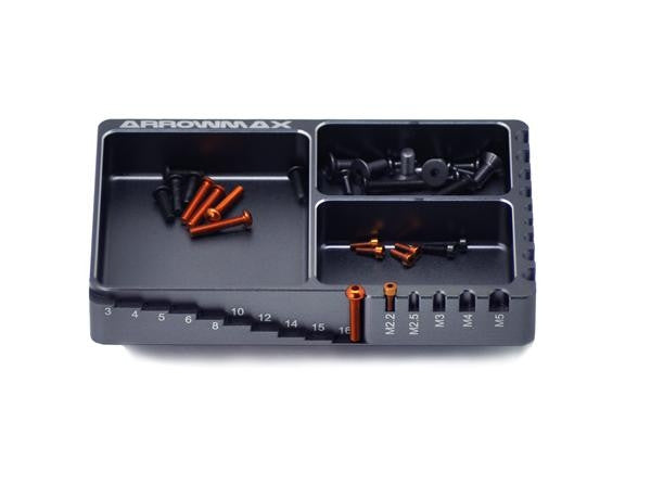 Multi Alu Case for Screws (120X80X18) AM-170063 - RACERC