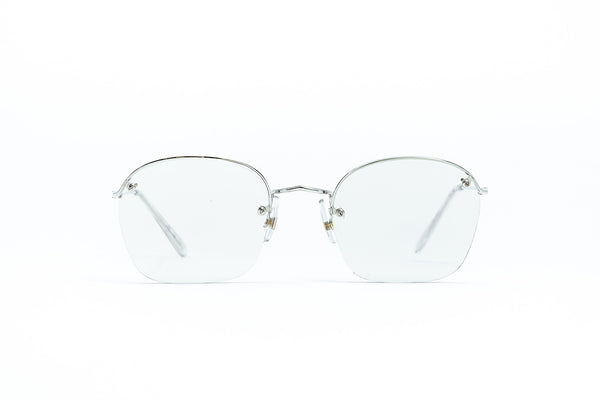 Algha Savil Row Rimless  Silver 49 20