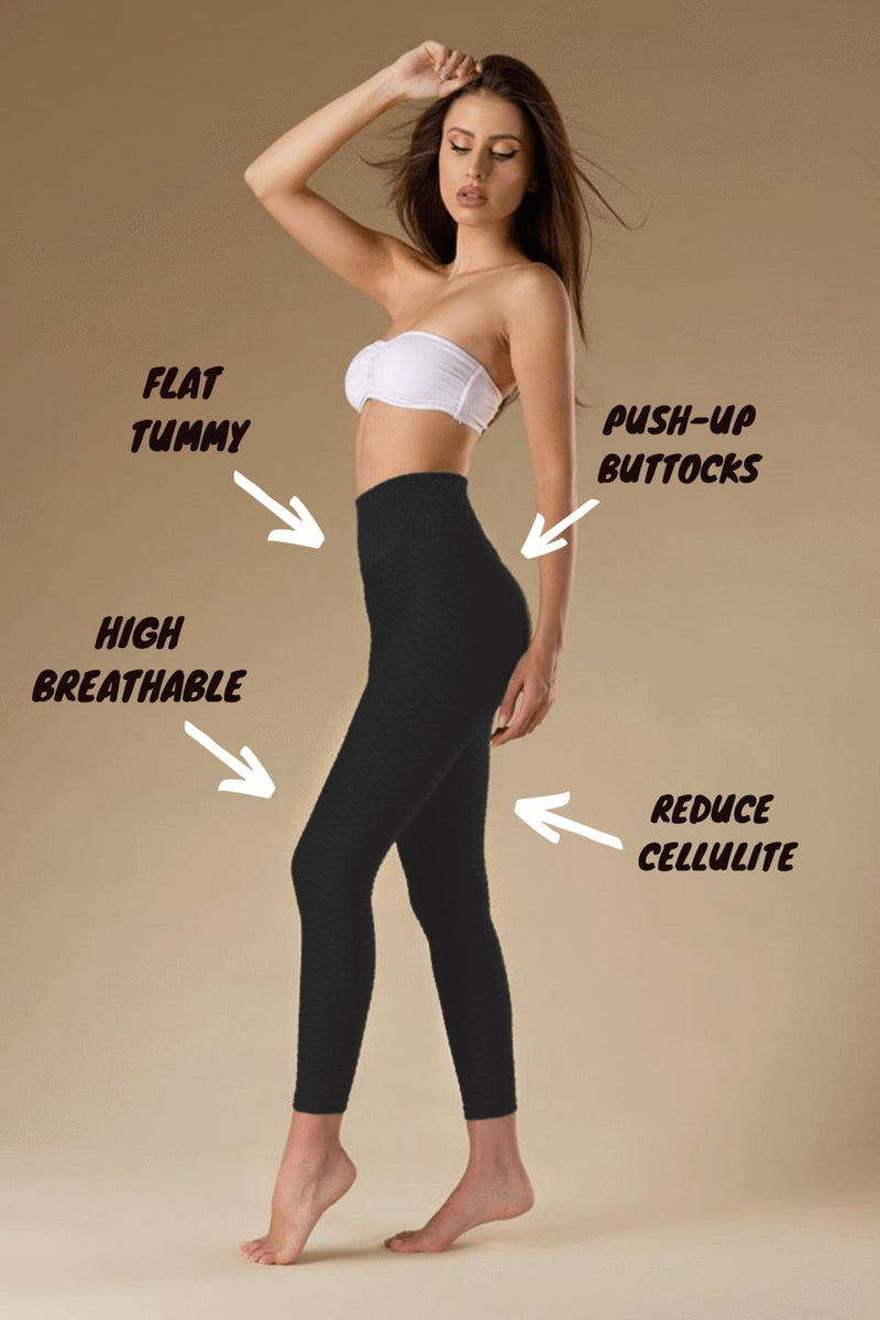 BOOTY® Honeycomb Compression Leggings