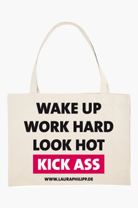 "Shopping Bag ""KICK ASS"""