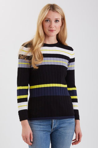 Striped Crewneck Sweater by Belford