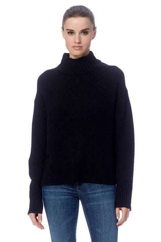Lyla Turtleneck Sweater by 360Cashmere