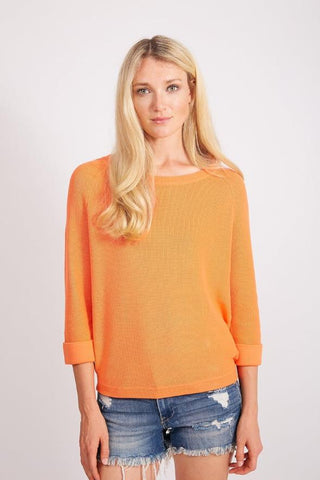 Crew Neck Shaker Sweater by Belford