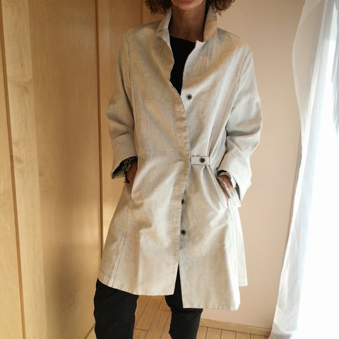 Annette Görtz RAOL Off White Canvas Coat