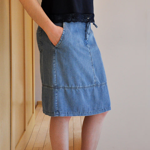Bianca Kini Denim Skirt