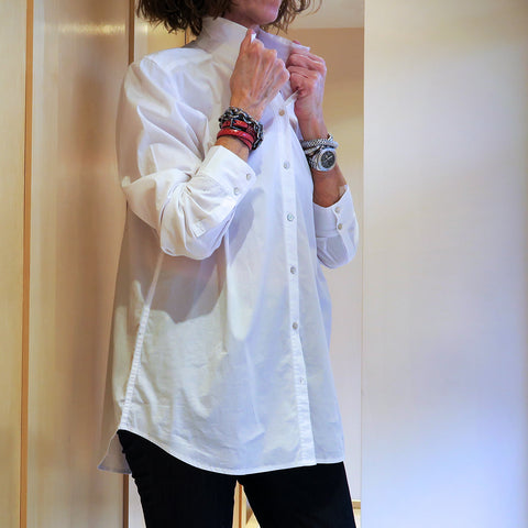 Eileen Fisher White Collar Shirt Jophiel