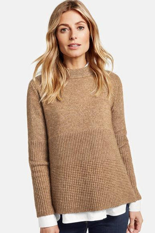 Textured Knit Sweater by Gerry Weber