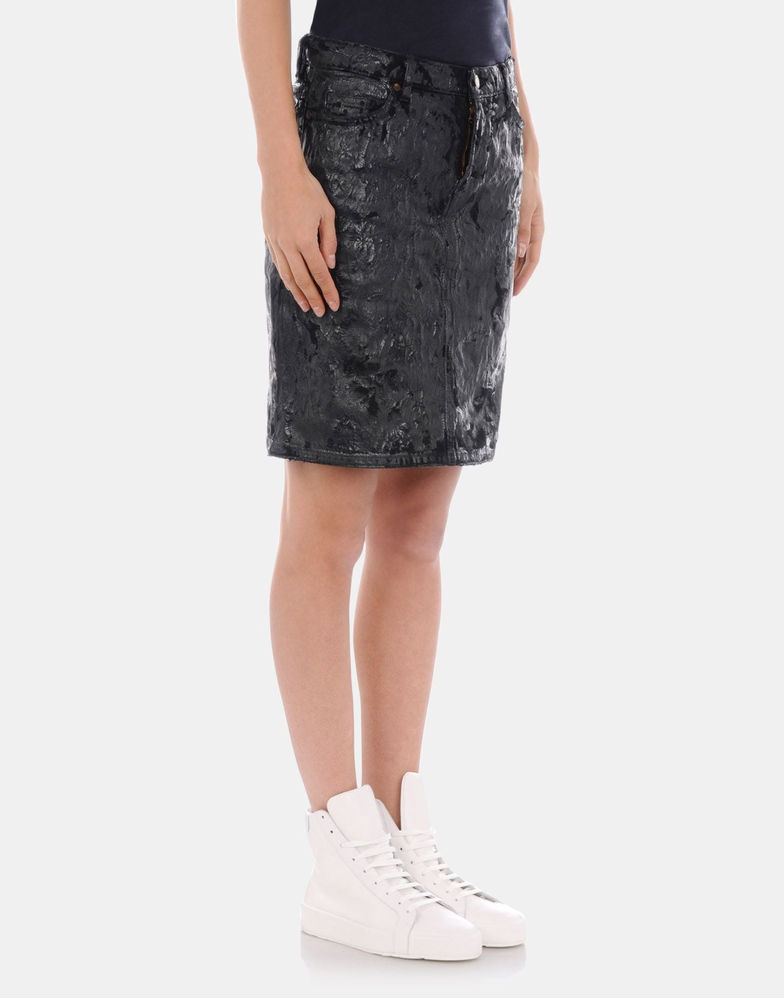 Jil Sander Denim Skirt