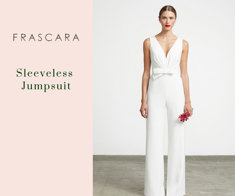 Sleeveless Jumpsuit by Frascara at Jophiel