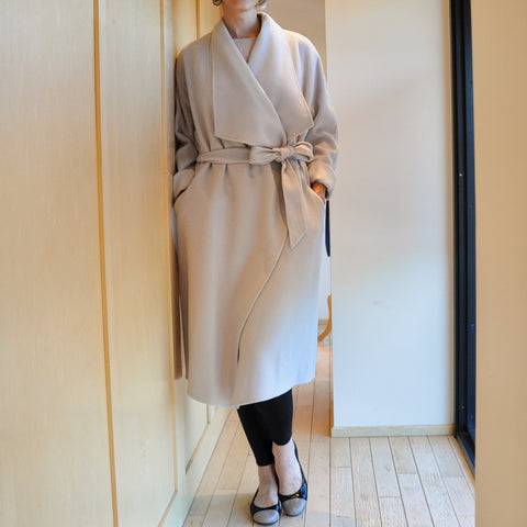 Marc Cain Wool Open Coat Jophiel