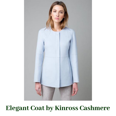Seamed Zip Jacket by Kinross Cashmere