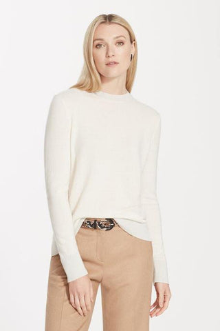 Cashmere Crewneck Sweater by Lafayette 148 New York