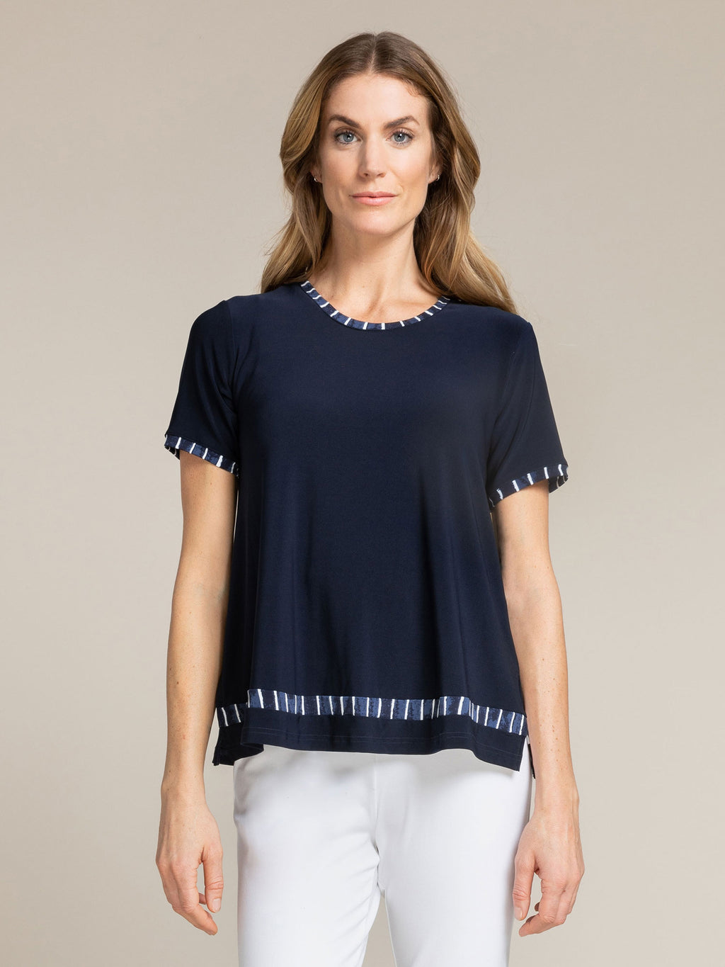 Sympli Outline Boxy Tee at Jophiel