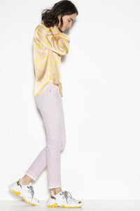 Color Skinny Jeans by Luisa Cerano at Jophiel