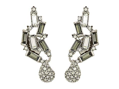 Climbing Crystal Baguette Post Earring by Alexis Bittar at Jophiel