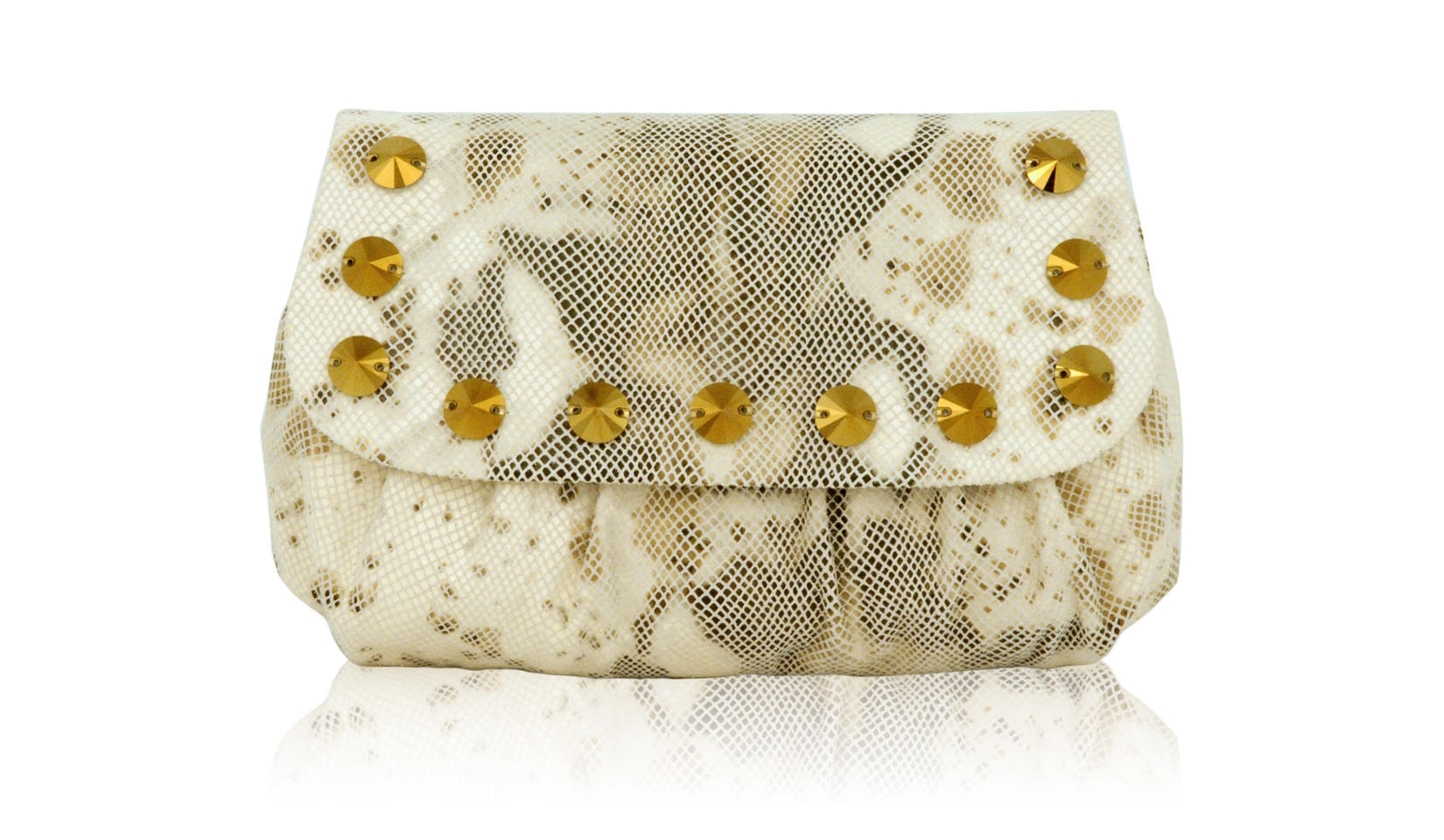 Inge Christopher Antha Mini Clutch Ivory At Jophiel